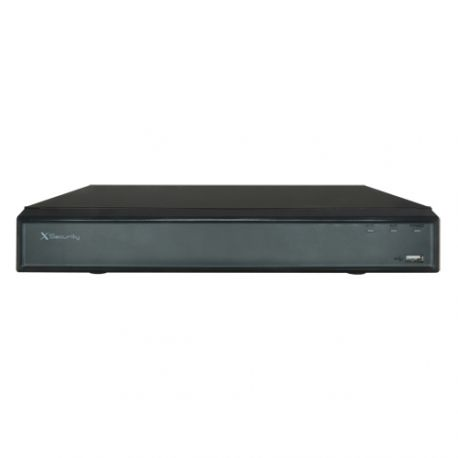 XS-HCVR8104-4K DVR X-Security HDCVI 8Mpx 15FPS de 4 canales +2 IP 2HDD