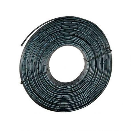 Cable de alimentación paralelo, bobina de 100m, negro