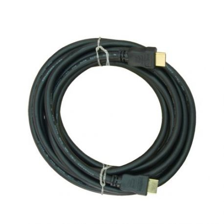 Cable HDMI de 5m, alta velocidad, negro