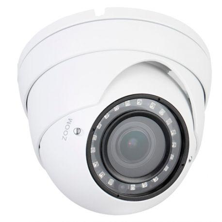 Cámara domo X-Security HDCVI, 4 Mpx., Zoom manual 5x, alcance IR 30m