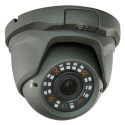 Cámara domo HDCVI, Full HD 1080p PRO, Zoom manual 5x, alcance IR 30m, gris