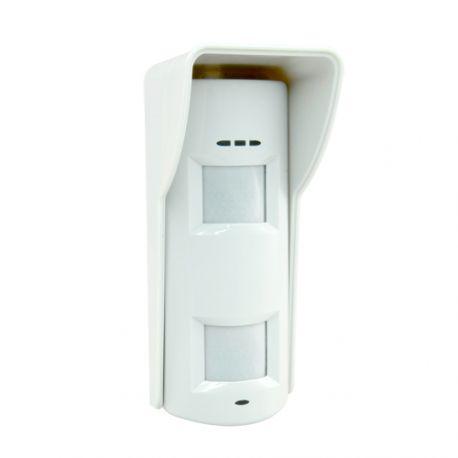 Detector de exterior Pyronix de triple tecnología doble PIR, microondas y antimasking Grado 3
