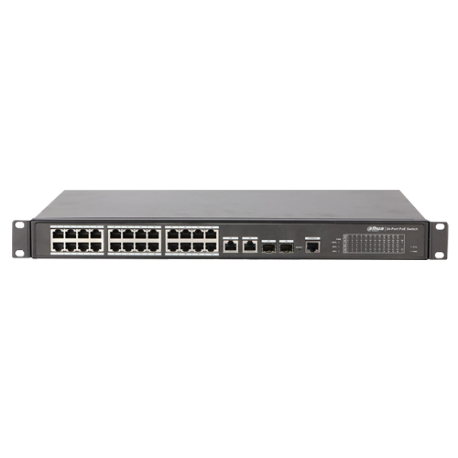 PFS4226-24ET-240 Switch PoE Dahua Autogestionable