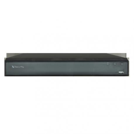 XS-NVR6208-4K8P-EPOE Grabador X-Security NVR para cámaras IP