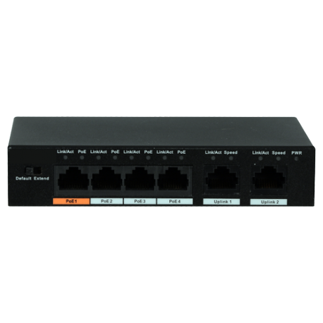 XS-SW0604-60-HIPOE Switch PoE X-Security