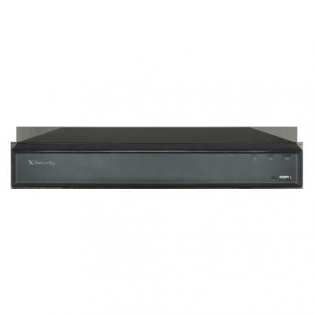 XS-XVR6208-4KL-HEVC Videograbador 5n1 X-Security 4K