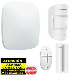 Kit de Alarma Ajax AJ-HUBKIT-W con IP y GSM/GPRS