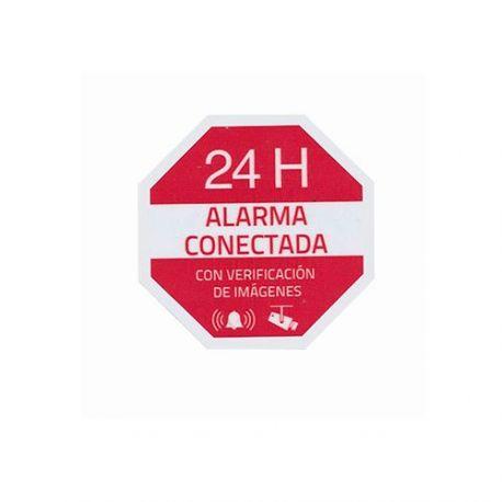 Pegatina de alarma conectada con verificación de imágenes 24H