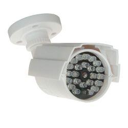 Cámara falsa compacta con LEDs operativos