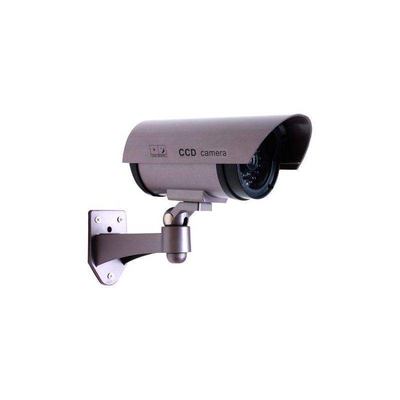 C mara falsa compacta de exterior con led intermitente - Camaras videovigilancia exterior ...