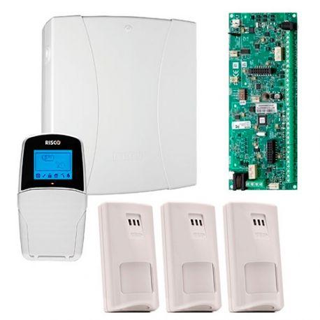 RM432PK03SPC Kit Central LightSYS 2 con Caja y Teclado LCD + 3 PIR iWISE de BUS