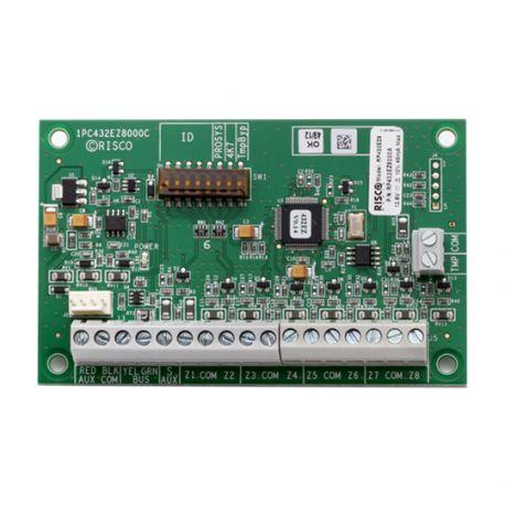 RP432EZ8000A Módulo RISCO Expansor de 8 zonas cableadas