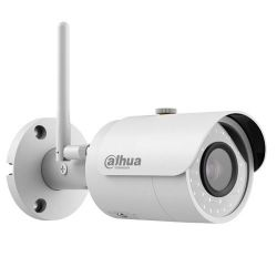 IPC-HFW1320S-W-0360 Cámara IP Wifi Dahua de exterior, 3 Mpx., 77 grados, alcance IR 30m