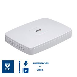 RVNVR080020A Grabador NVR RISCO VUpoint 8 Canales IP con 8 Puertos PoE