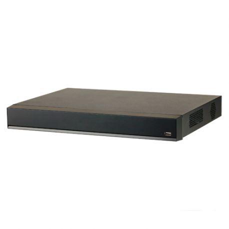 XS-NVR6216-AI-8P Grabador NVR X-Security 16 CH de 12 Mpx (6K) con 8 PoE e Inteligencia Artificial, admite 2 HDD