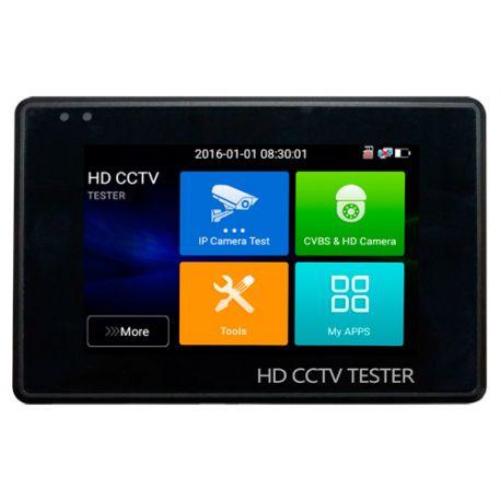 SF-TESTER-ARM-5N1-4K Comprobador CCTV e IP 5 en 1 de muñeca