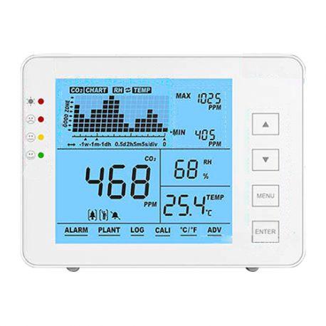 MT-CO2-1200P Medidor de CO2, temperatura y humedad