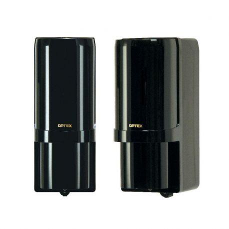 AX-200TFR(BE)C Barrera de infrarrojos OPTEX de doble haz autoalimentadas.