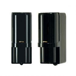 AX-100TFR(BE)C Barrera de infrarrojos OPTEX de doble haz autoalimentadas.