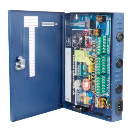 PD-250-18-SLIM Caja de distribución de alimentación de 18 salidas 12V 20A