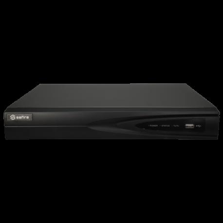 SF-XVR8104AS-4KL-1FACE Videograbador 5n1 Safire 4 CH con alarmas