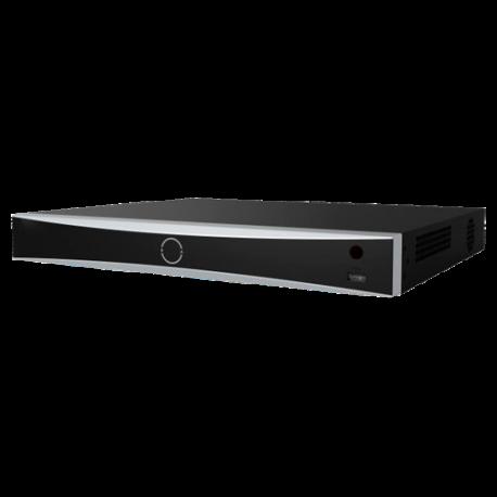 SF-NVR8216-4K-8FACE Grabador NVR Safire 16 CH con Reconocimiento facial y alarmas, admite 2 HDD