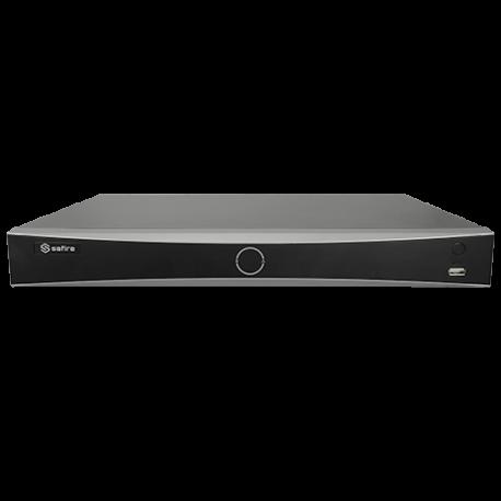 SF-NVR8416A-4K-4AI Grabador NVR Safire para cámaras IP 16 CH con alarmas