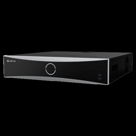SF-NVR8432-4K-16FACE Grabador NVR Safire 32 CH con Reconocimiento facial y alarmas, admite 4 HDD
