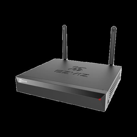 EZ-CS-X5S-4W Grabador NVR WiFi EZVIZ, 4 Cámaras IP hasta 5 Mpx