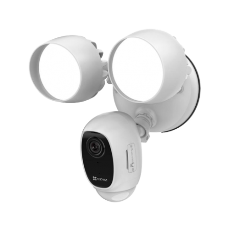 EZ-LC1C Foco/Cámara WiFi Ezviz 2 Mpx, PIR, sirena y audio