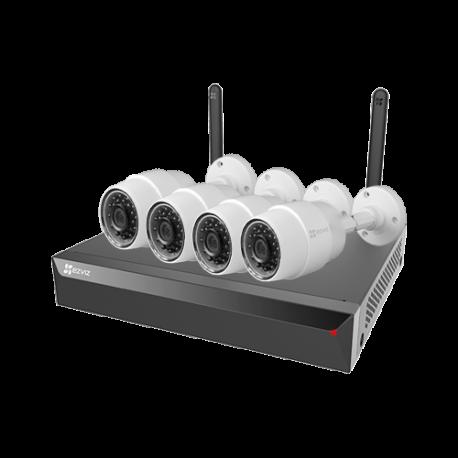 EZ-X5S4W-C3C Kit de Videovigilancia EZVIZ de 4 Cámaras IP 720p