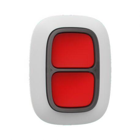 AJ-DOUBLEBUTTON-W Doble botón de pánico bidireccional Ajax