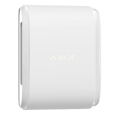 AJ-DUALCURTAINOUTDOOR-W Detector PIR Dual tipo cortina para Exterior Ajax
