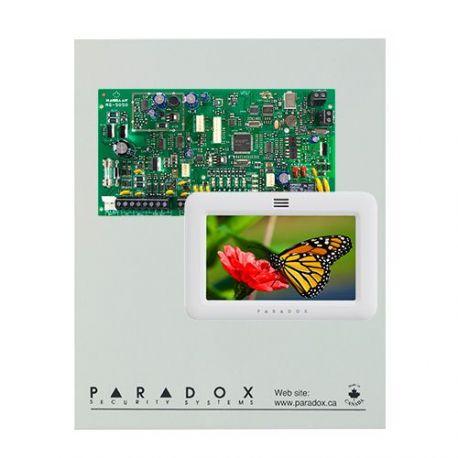 Kit Paradox Magellan MG5050 con caja metálica grande y teclado TM50