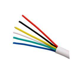 Cable de alarma de 6 hilos, bobina de 100m