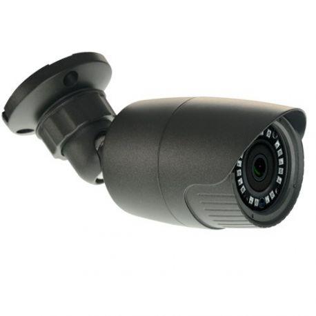 Cámara de seguridad de exterior 4 en 1, HD 720p, 79 grados, visión nocturna 20m, gris