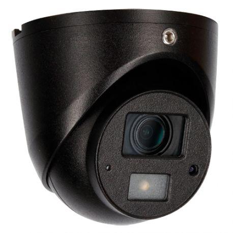 Cámara de seguridad domo con audio, Full HD 1080p, 83 grados, visión nocturna 20m, gris