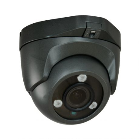 Cámara de seguridad domo 4 en 1, Full HD 1080p, Zoom manual x4, visión nocturna 40m, gris