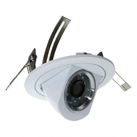 Cámara domo empotrable 4 en 1, Full HD 1080p, 79 grados, visión nocturna 20m