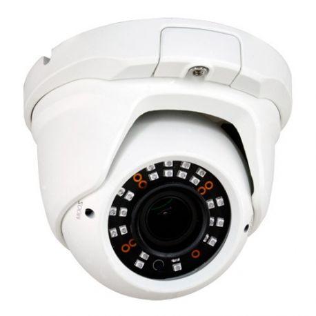Cámara de vigilancia domo 4 en 1, HD 720p, Zoom manual x4, visión nocturna 30m