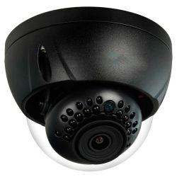 Cámara IP domo X-Security antivandálica, 2 Mpx., 110 grados, alcance IR 30m, negra