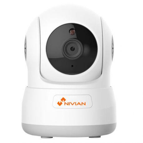 Cámara IP Wifi motorizada económica Nivian, 1 Mpx., alcance IR 5m