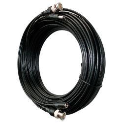 Cable coaxial combinado vídeo y alimentación con conectores 10m