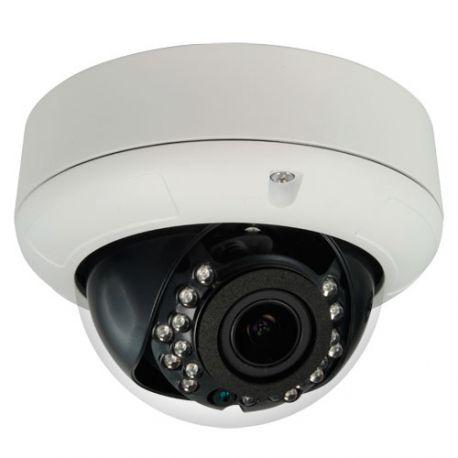 Cámara domo antivandálica 4 en 1, Full HD 1080p PRO, Zoom x4, visión nocturna 25m