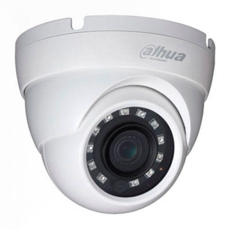 HAC-HDW1200M Cámara domo Dahua 4 en 1, Full HD 1080p, 90º, IR 30m