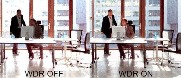 Función WDR para cámaras de seguridad